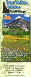Buy map Sun Valley, Idaho, Trail Map by Adventure Maps