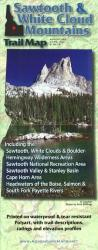 Buy map Sawtooth and White Cloud Mountains, Trail Map by Adventure Maps from Idaho Maps Store