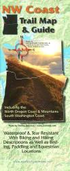 Buy map NW Coast Trail Map and Guide by Adventure Maps from Oregon Maps Store