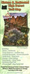 Buy map Sisters & Redmond High Desert Trail Map by Adventure Maps from Oregon Maps Store