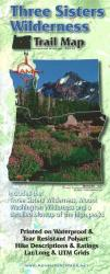 Buy map Three Sisters Wilderness Trail Map by Adventure Maps from Oregon Maps Store