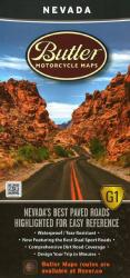 Buy map Nevada, Butler Motorcycle Map G1 by Butler Motorcycle Maps from Nevada Maps Store