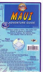 Buy map Maui, Hawaii, Guide Map Things to See and Do by Frankos Maps Ltd. from Hawaii Maps Store