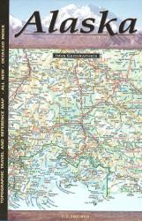 Buy map Alaska, Topographic and Reference Map by Imus Geographics from Alaska Maps Store