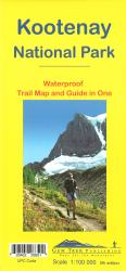 Buy map Kootenay National Park, waterproof by Gem Trek from British Columbia Maps Store