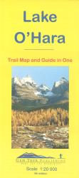 Buy map Lake OHara, Yoho Natl Park, British Columbia by Gem Trek