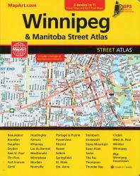 Buy map Winnipeg and Manitoba Street Atlas / Manitoba Back Road Atlas by MapArt Publishing, Canadian Cartographics Corporation from Canada Maps Store