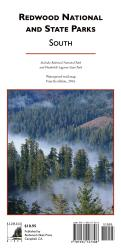 Buy map Redwood National and State Parks, South, waterproof by Redwood Hikes Press