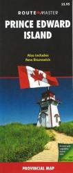 Buy map New Brunswick and Prince Edward Island by Route Master from New Brunswick Maps Store
