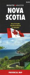 Buy map Nova Scotia and Newfoundland/Labrador by Route Master from Canada Maps Store