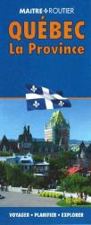 Buy map Quebec, Province Map by Route Master