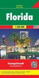 Buy map Florida by Freytag-Berndt und Artaria