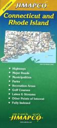 Buy map Connecticut and Rhode Island by Jimapco from United States Maps Store
