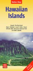 Buy map Hawaiian Islands by Nelles Verlag GmbH