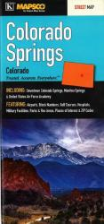 Buy map Colorado Springs, Colorado by Kappa Map Group from Colorado Maps Store