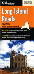 Buy map Long Island Roads, New York by Kappa Map Group