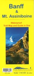 Buy map Banff National Park, Mount Assiniboine by Gem Trek from Canada Maps Store