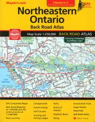 Buy map Northeastern Ontario Back Road Atlas by MapArt Publishing from Ontario Maps Store