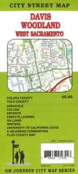 Buy map Yolo County, Davis, Woodland, Glen County and Colusa County, California by GM Johnson from California Maps Store