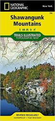 Buy map Shawangunk Mountains, TI 750 by National Geographic Maps from New York Maps Store