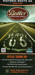 Buy map Route 66, East by Butler Motorcycle Maps from Texas Maps Store