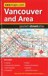 Buy map Vancouver and Area, BC, Pocket Street Atlas by Canadian Cartographics Corporation