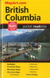 Buy map British Columbia Pocket Road Atlas by Canadian Cartographics Corporation from British Columbia Maps Store