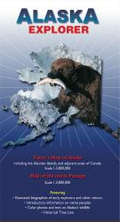 Buy map Alaska Explorer Map by Ocean Explorer Maps from Alaska Maps Store