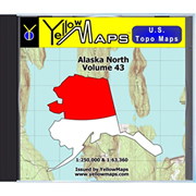YellowMaps U.S. Topo Maps - Alaska North