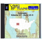 Colorado map DVD in Digital USGS Topo Map Store