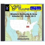 Western Kentucky & Area map DVD in Digital USGS Topo Map Store