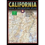 California Road & Recreation Atlas in California Map Store