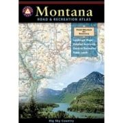 Montana Road & Recreation Atlas from Montana Maps Store