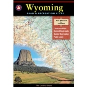 Wyoming Road & Recreation Atlas from Wyoming Maps Store