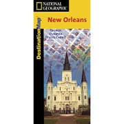 New Orleans from Louisiana Maps Store