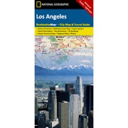 Los Angeles from California Maps Store