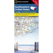 Southeastern USA from North Carolina Maps Store
