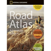 Road Atlas - Adventure Edition from Maine Maps Store