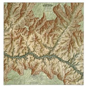 Heart of the Grand Canyon from Arizona Maps Store