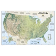 United States Physical from United States Maps Store