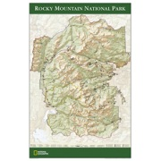 Rocky Mountain National Park Poster from Colorado Maps Store