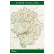 Yosemite National Park Poster from California Maps Store