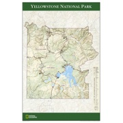 Yellowstone National Park Poster from Wyoming Maps Store