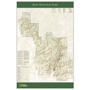 Zion National Park Poster from Utah Maps Store
