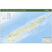 Isle Royale National Park Poster from Michigan Maps Store