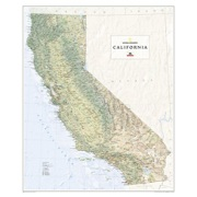 California, laminated from California Maps Store