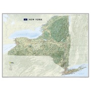 New York, laminated from New York Maps Store