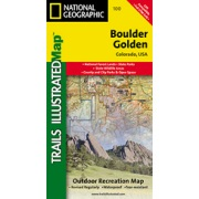 Boulder / Golden from Colorado Maps Store