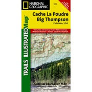 Cache La Poudre / Big Thompson from Colorado Maps Store