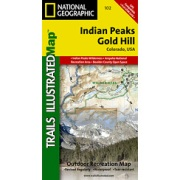 Indian Peaks / Gold Hill from Colorado Maps Store